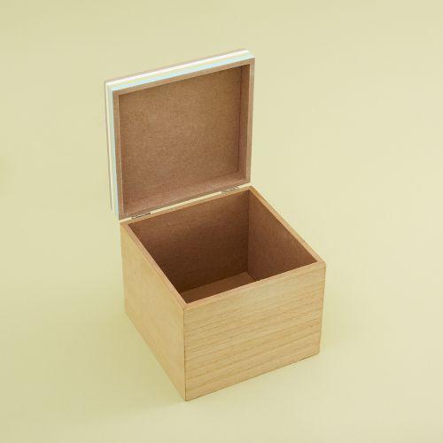 Personalised Bear Mini Keepsake Box