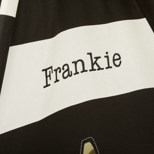 Personalised Black & White Striped Teepee Tent
