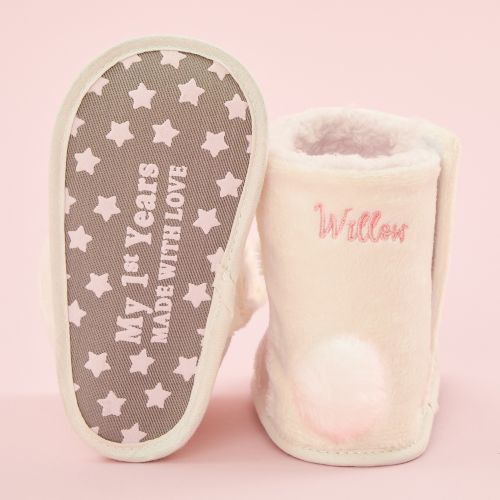 Personalised Bunny Booties