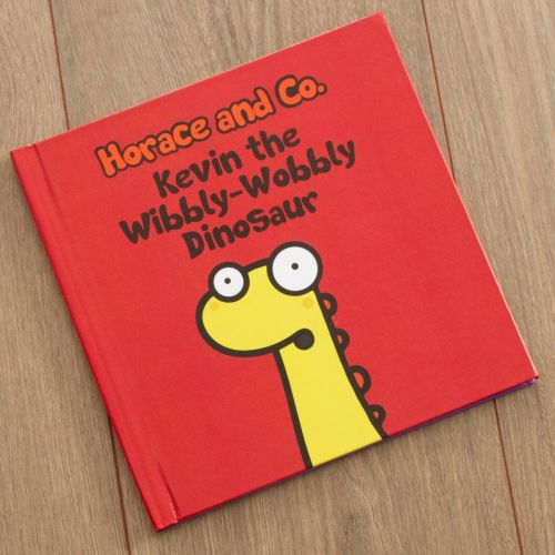 Personalised Horace and Co The Wibbly-Wobbly Dinosaur Book
