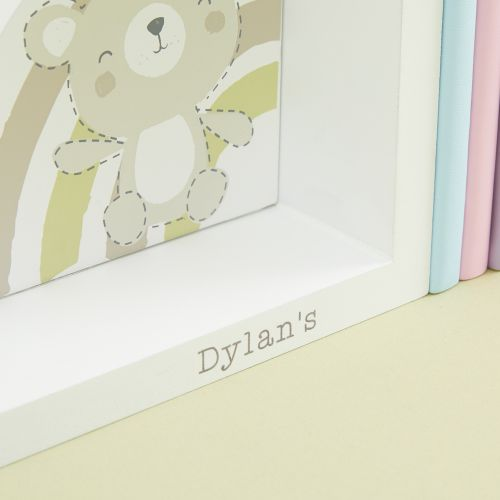 Personalised Bear Bookends