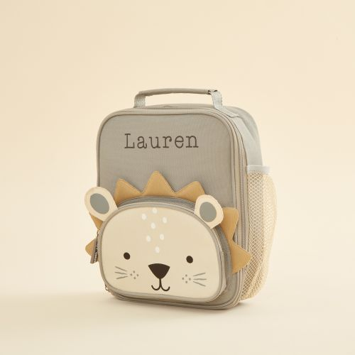 Personalised Lion Lunch Bag