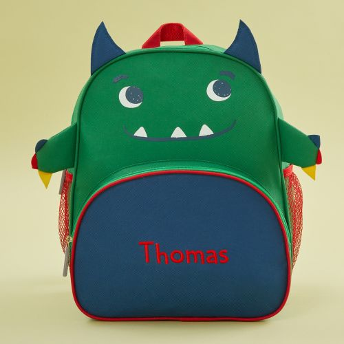 Personalised Monster Infant Backpack