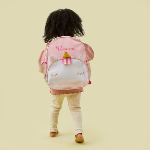 Personalised Unicorn Infant Backpack Model