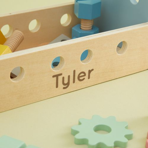Personalised Wooden Tool Box Toy