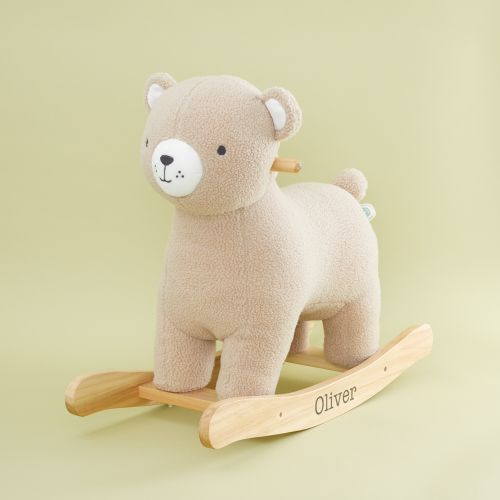 Personalised Plush Bear Rocker