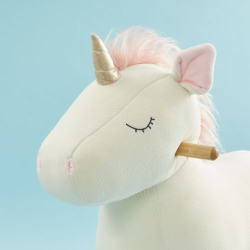 Personalised Plush Unicorn Rocker