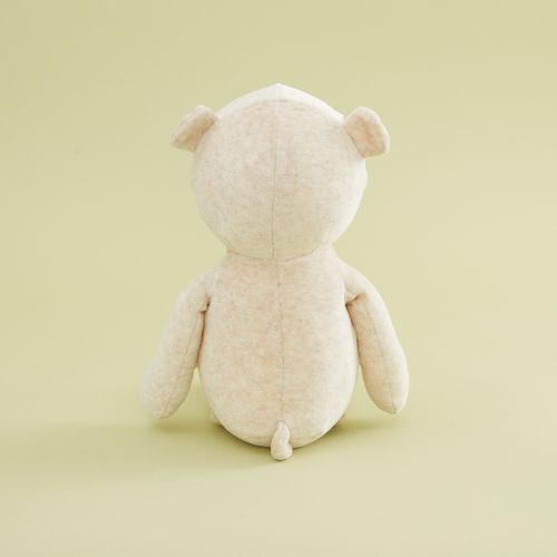 Personalised Cream Bear Soft Toy