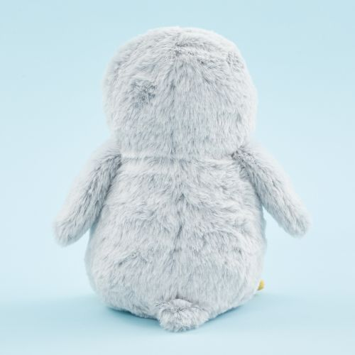 Personalised Grey Penguin Soft Toy