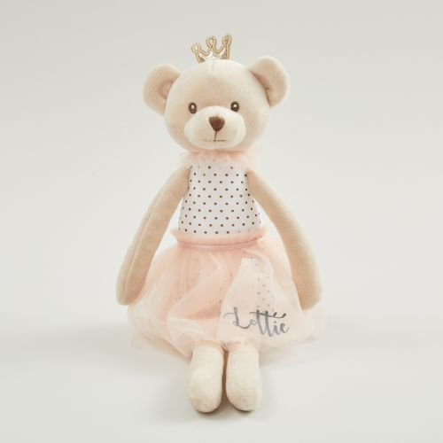 Personalised Princess Bear Soft Doll