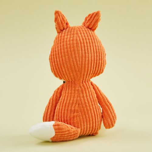 Personalised Mr Fox Textured Soft Toy