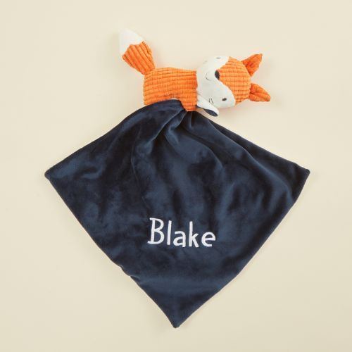 Personalised Mr Fox Textured Comforter