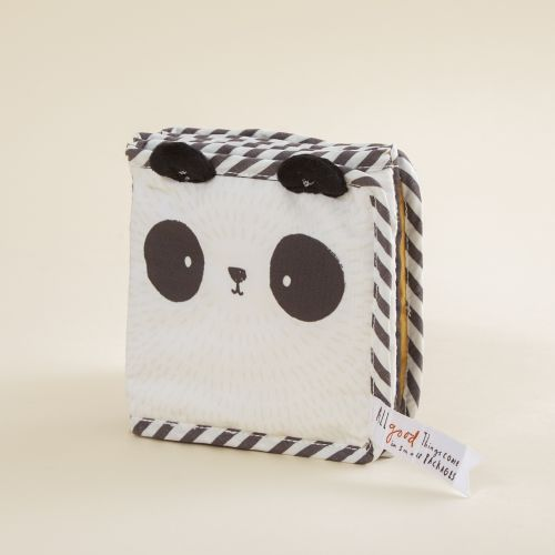 Personalised Panda Design Baby Activity Book