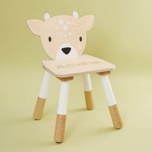 Personalised Deer Design Children's Chair