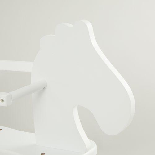 Personalised White Rocking Horse