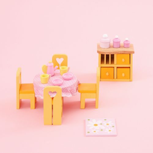 Le Toy Van Sugar Plum Dining Room Set