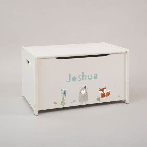 Personalised Little Adventures Toy Box