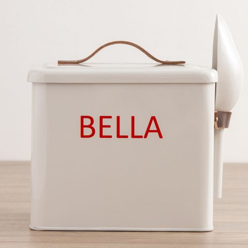 Personalised Regular Pet Food Storage Bin