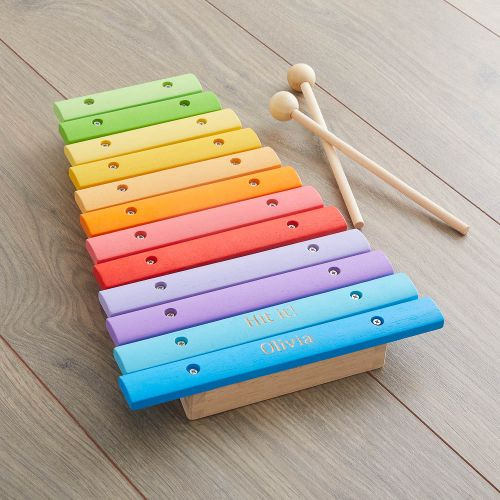Personalised Colourful Xylophone Toy