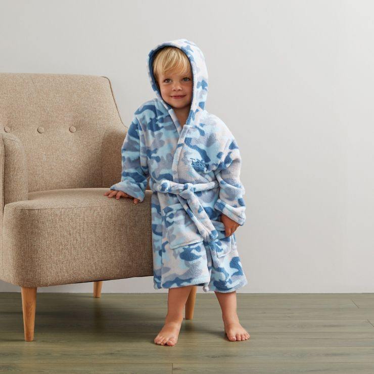 Personalised Camouflage Robe - Model