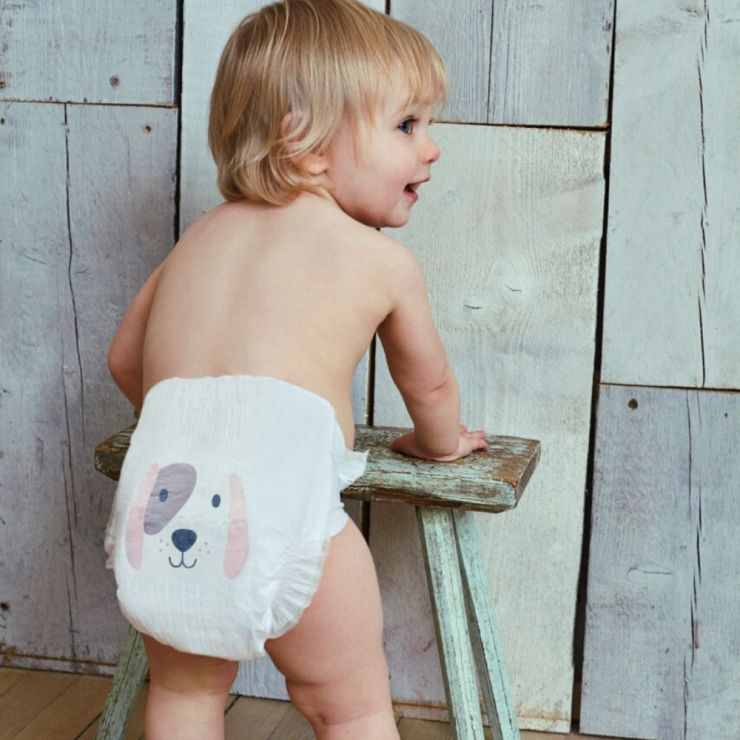 Kit & Kin Eco-Friendly Nappies (size 6)