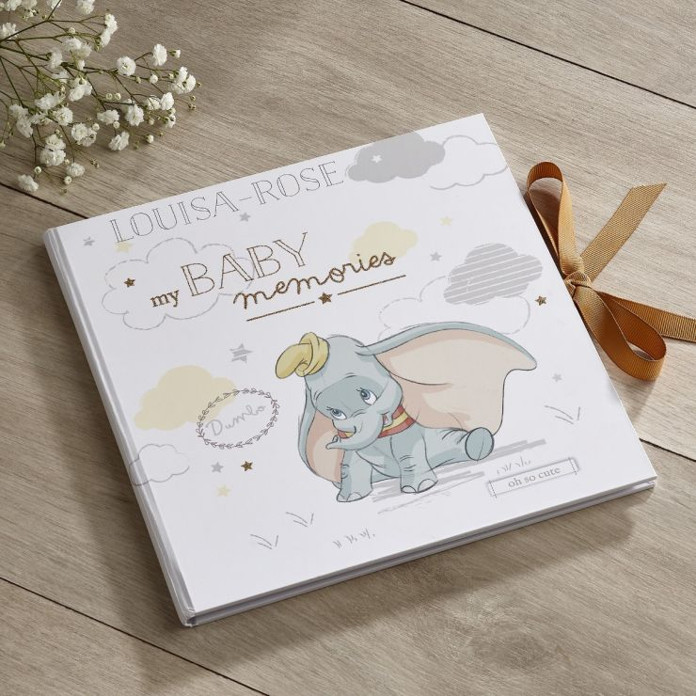 Personalised Disney Dumbo Record Book