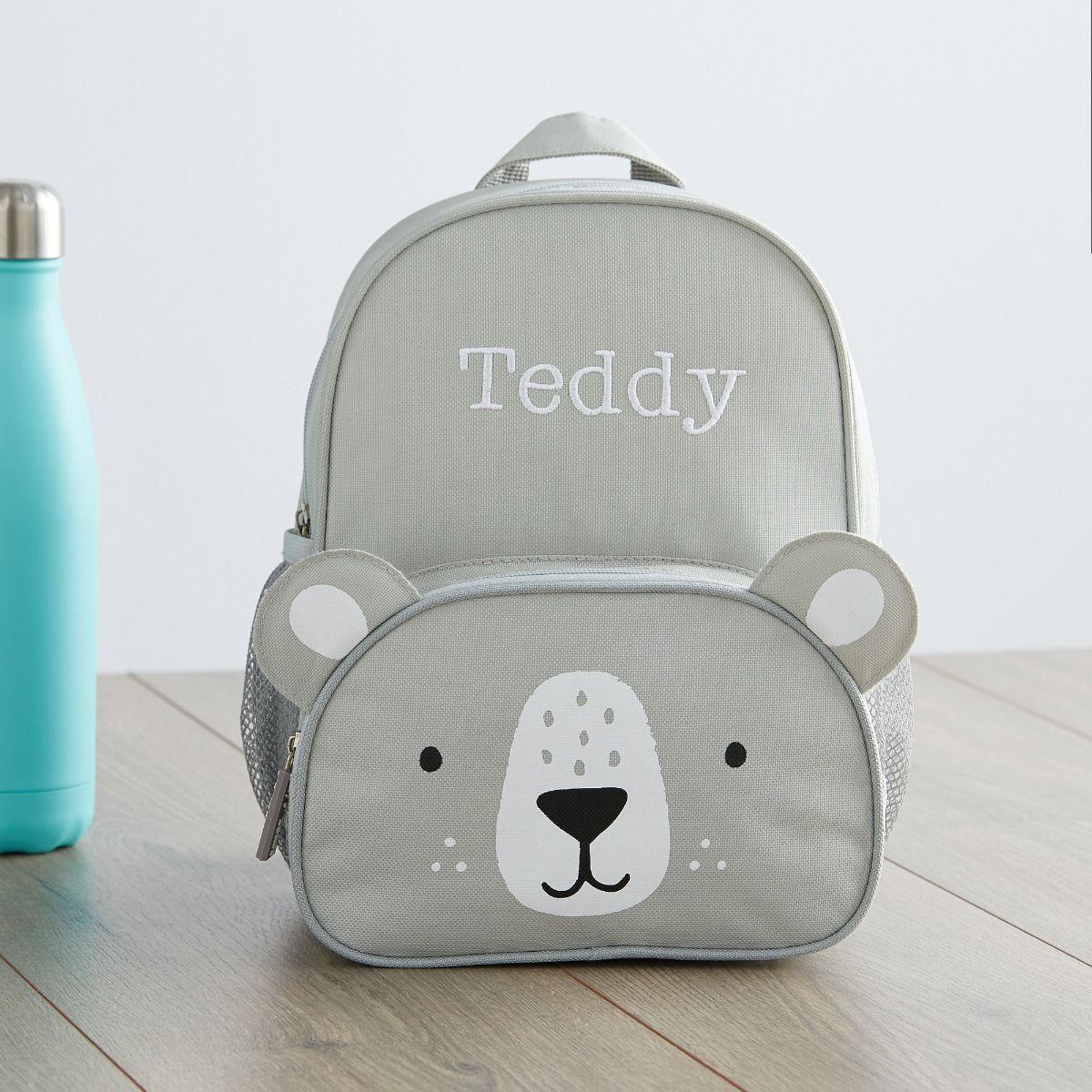 Personalised Bear Mini Backpack Main