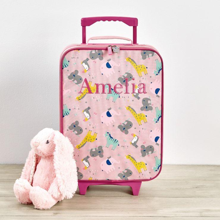 Personalised Koala & Friends Small Suitcase