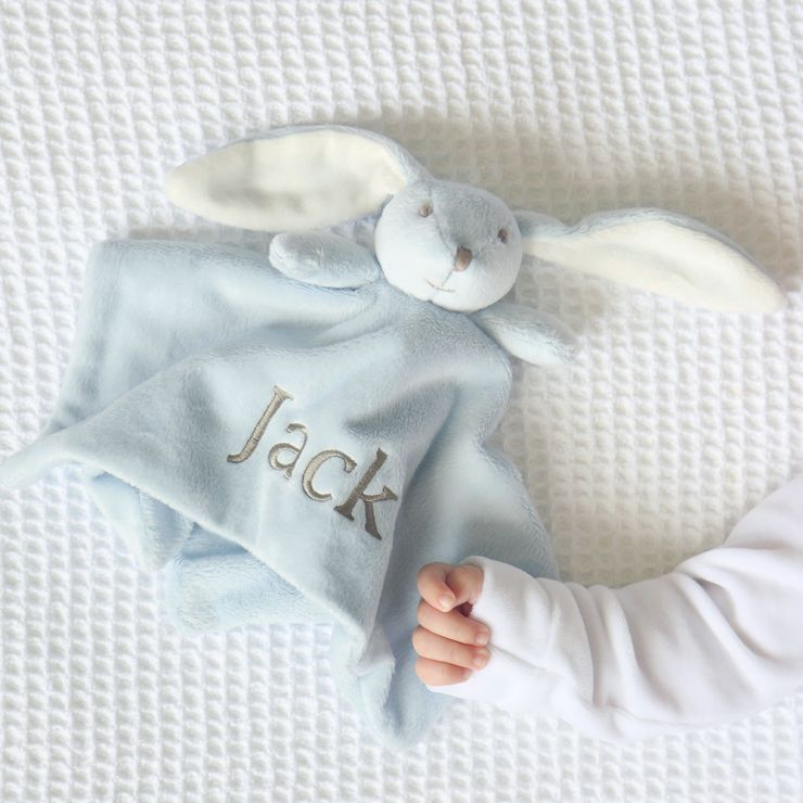 Super Soft Bunny Comforter - Blue