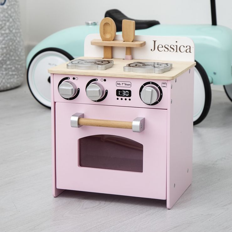 Personalised Pink Mini Kitchen