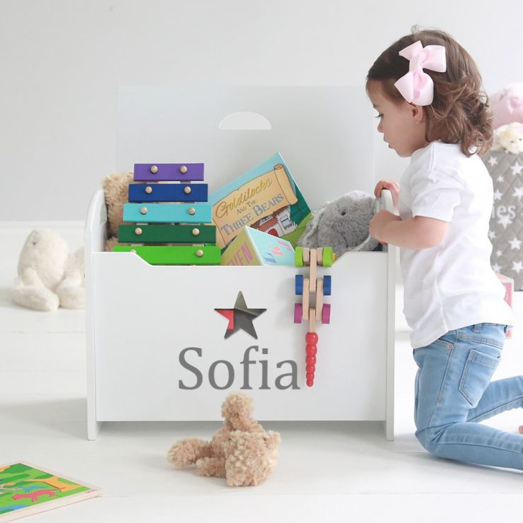 Personalised Star Toy Chest