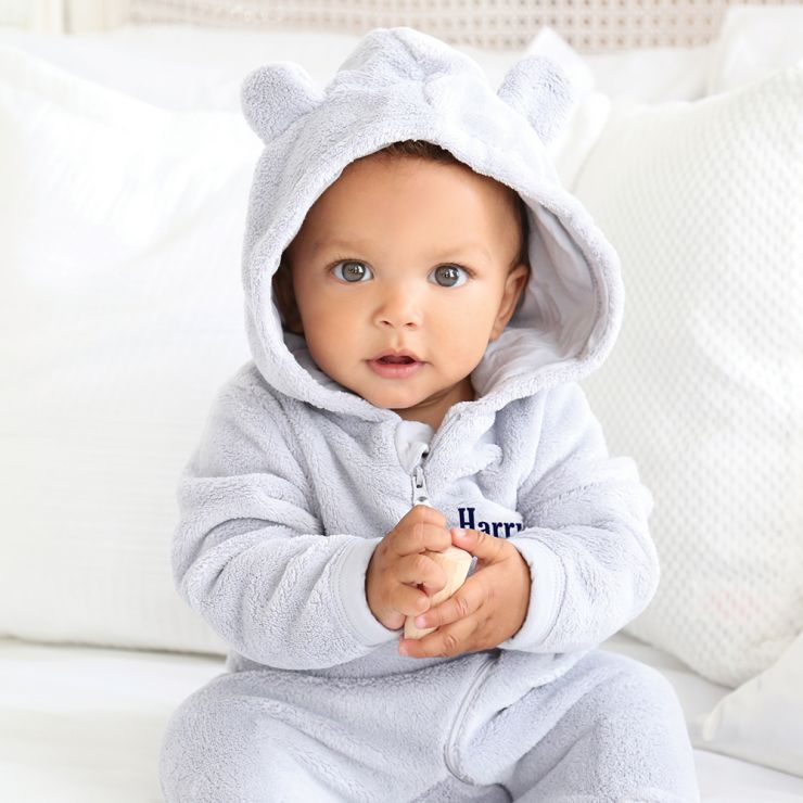 Personalised Baby Bear Onesie