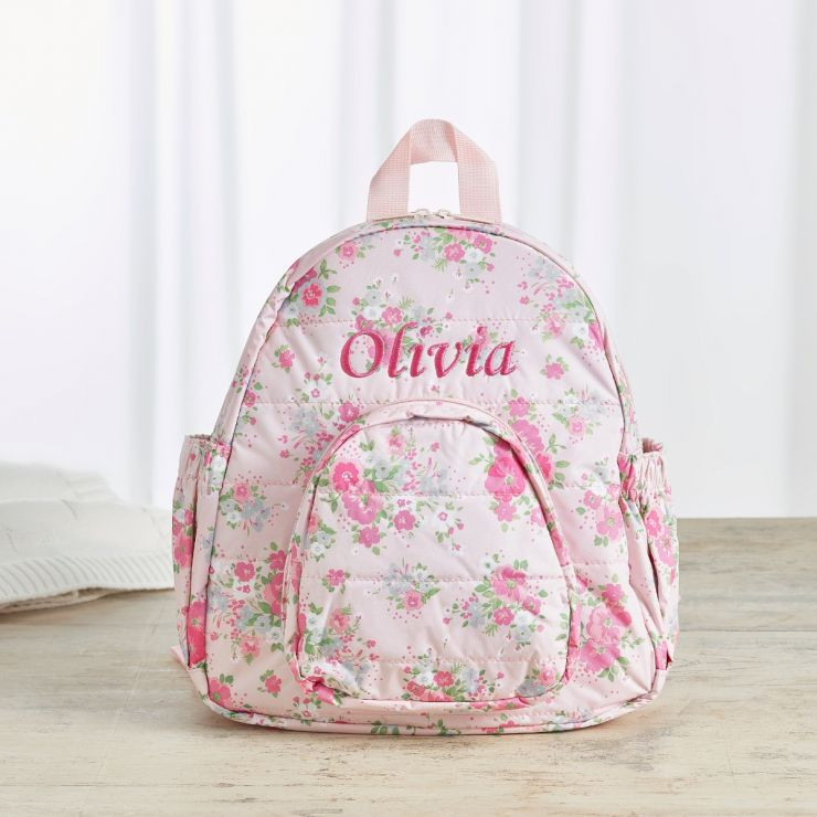 Personalised Ditsy Print Infant Backpack