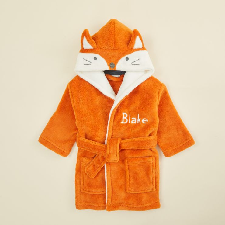 Personalised Fox Robe
