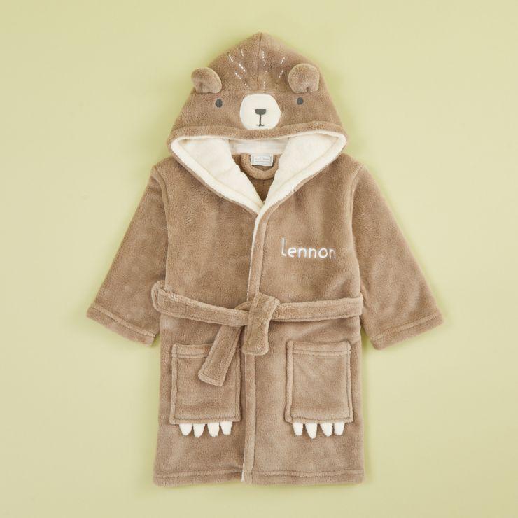Personalised Bear Robe