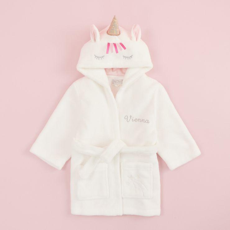 Personalised Unicorn Robe
