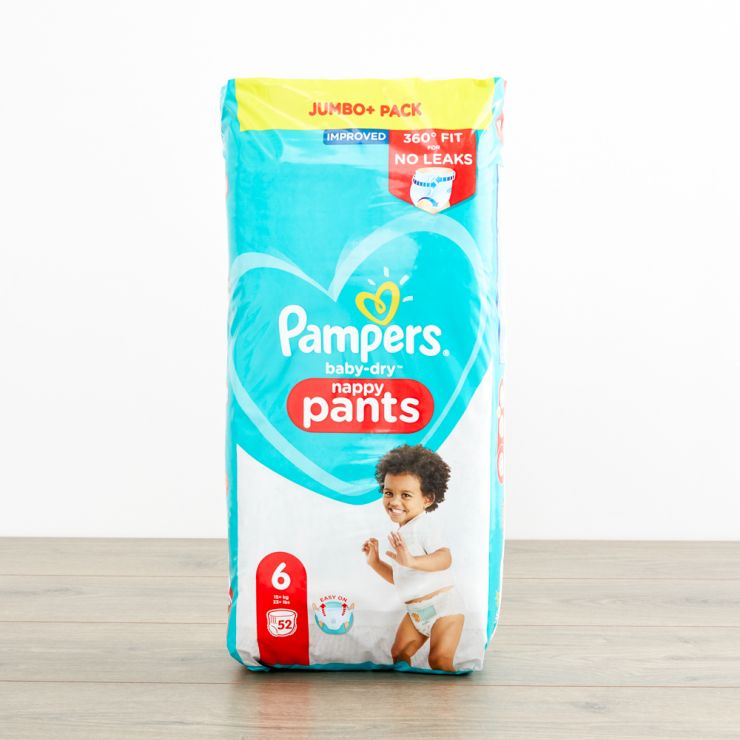 Pampers Size 6 Baby Dry Pants (Jumbo Cube Pack)