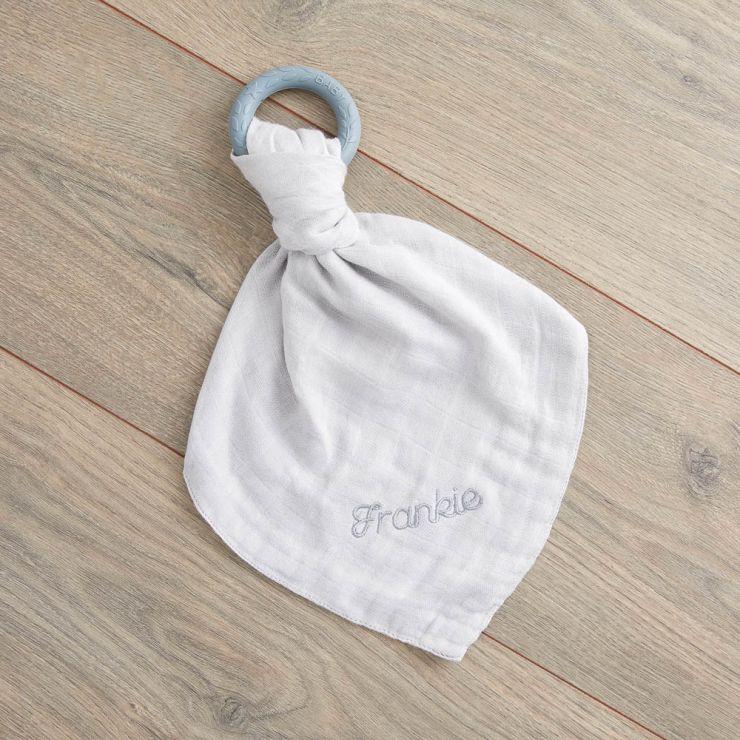 Personalised Grey Bamboo Comforter