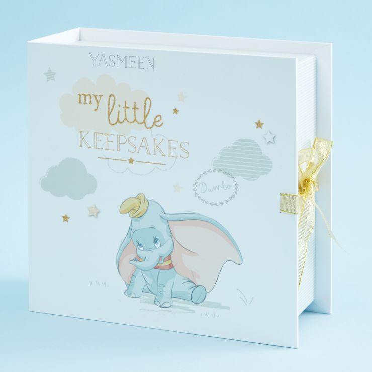 Personalised Disney Dumbo 'My Little Keepsakes' Box