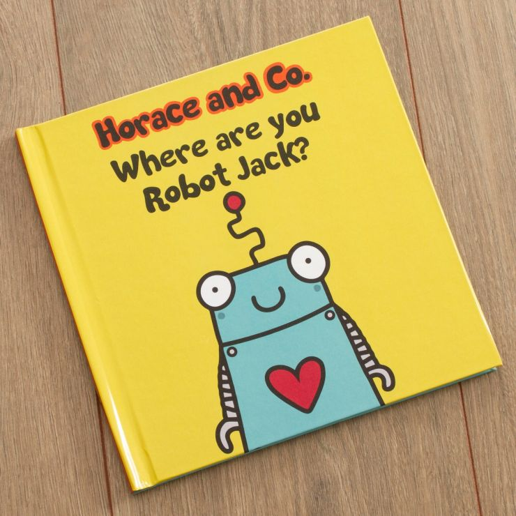 Personalised Horace and Co Where are you Robot? Book