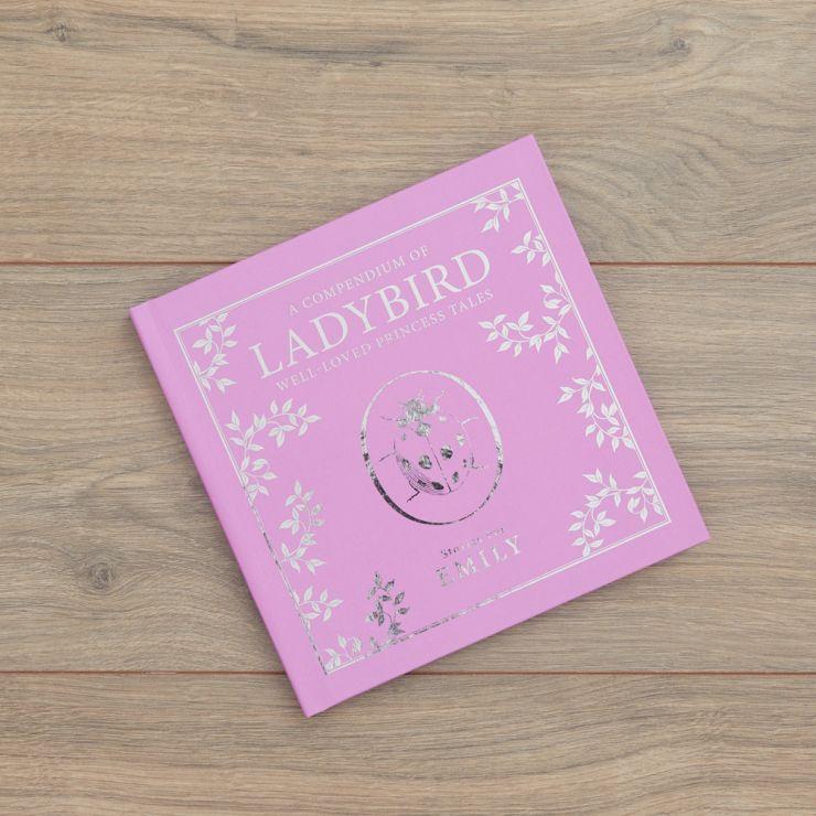 Personalised Pink Ladybird Story Book