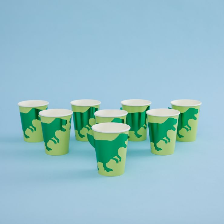 Ginger Ray Paper Dinosaur Party Cups