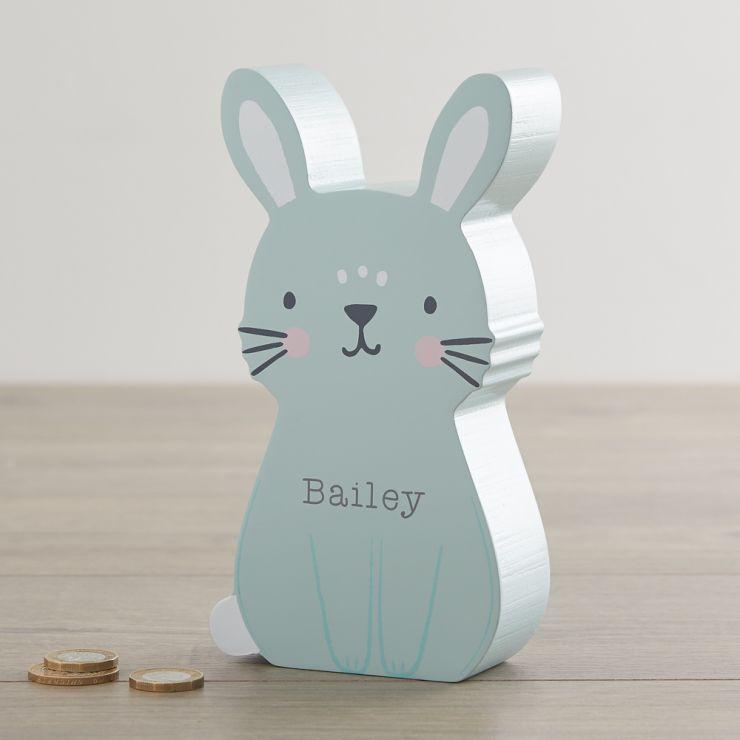 Personalised Bunny Money Box