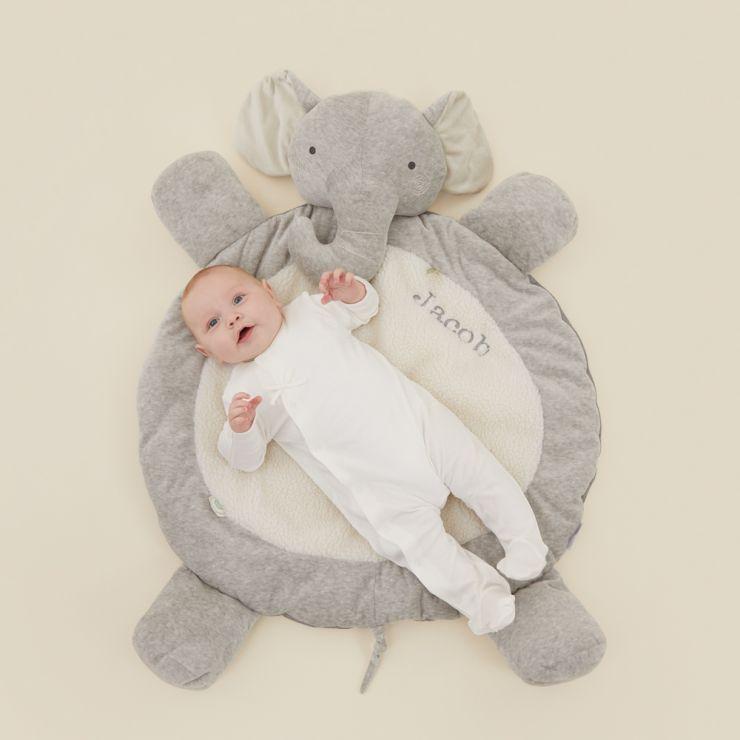 Personalised Elephant Playmat Model