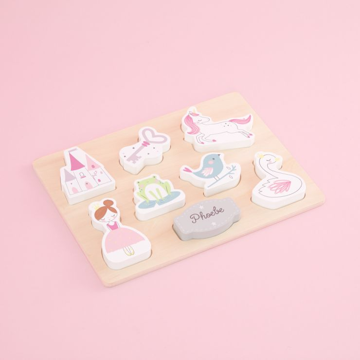 Personalised Wooden Fairytale Puzzle