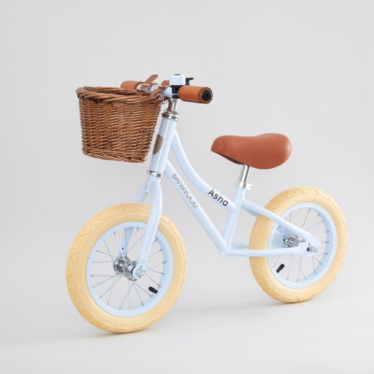 Personalised Banwood First Go Balance Bike in Sky Blue
