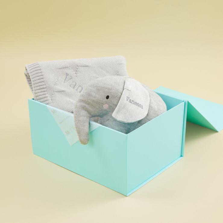 Personalised Grey Star Gift Set