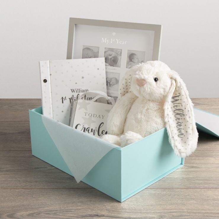 Personalised Newborn Gift Set