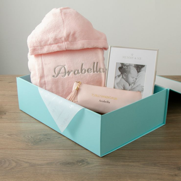Personalised Pink Mummy Essentials Mother's Day Gift Set