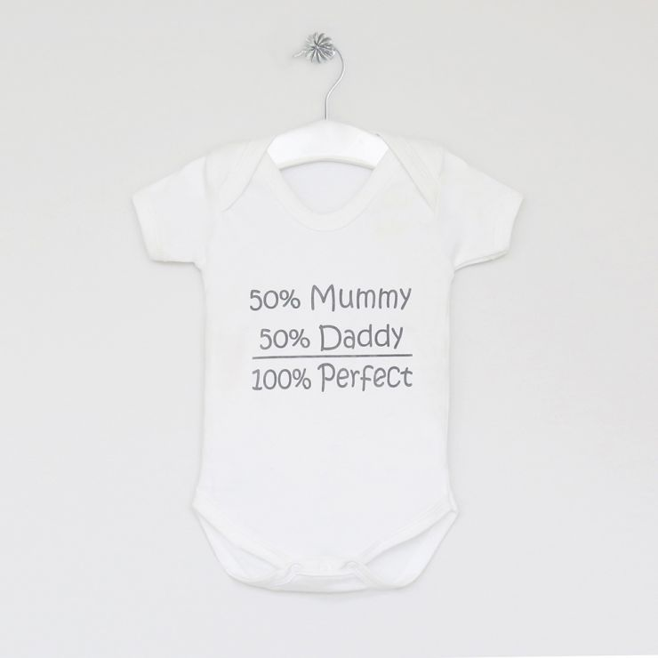 Personalised Percentage Bodysuit